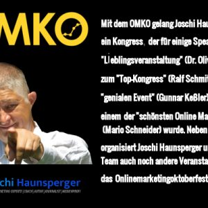 OMKO 2018 - Online Marketing Kongress