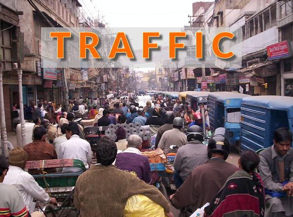 """Beitragsbild """"Traffic - der größte Engpass im Online-Business"""""""