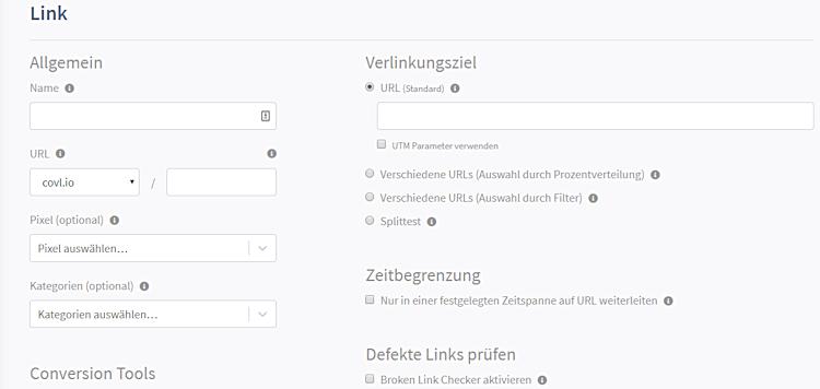 CONVERT LINK - Links